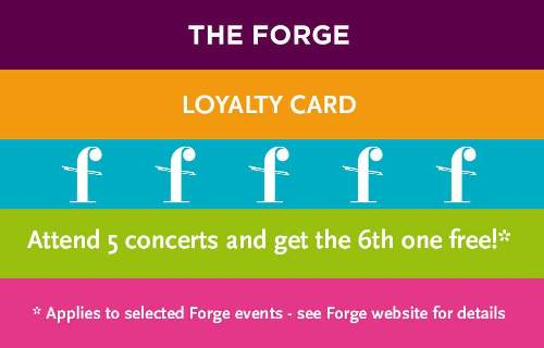 The Forge loyalty card